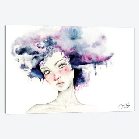 Angel Canvas Print #JHB2} by Joanna Haber Art Print