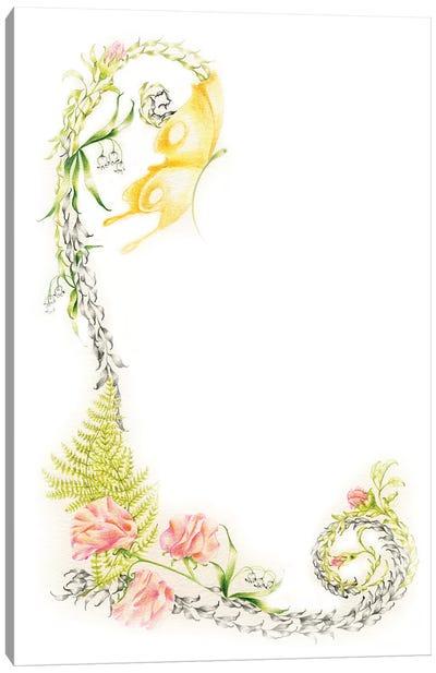 Letter L I Canvas Art Print