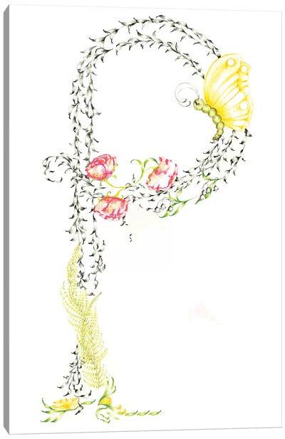 Letter P Canvas Art Print
