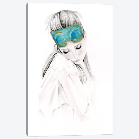 Audrey Canvas Print #JHB3} by Joanna Haber Canvas Art Print