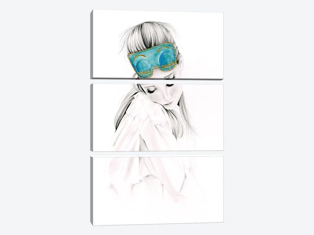 Audrey by Joanna Haber 3-piece Canvas Artwork