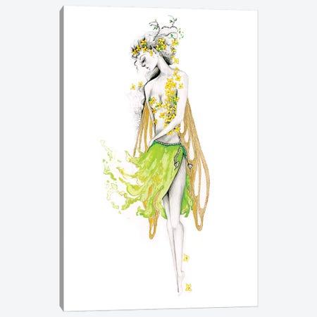 My Secret Garden Canvas Print #JHB46} by Joanna Haber Canvas Wall Art