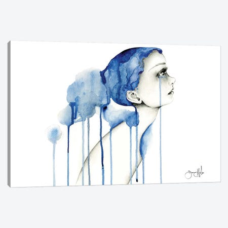 My Suffering Canvas Print #JHB47} by Joanna Haber Canvas Art