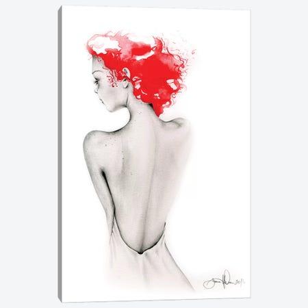 Bashful Canvas Print #JHB4} by Joanna Haber Canvas Art