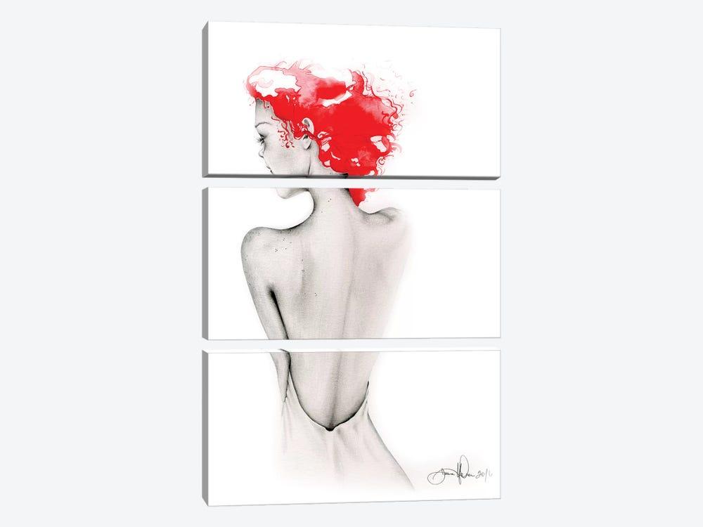 Bashful by Joanna Haber 3-piece Art Print