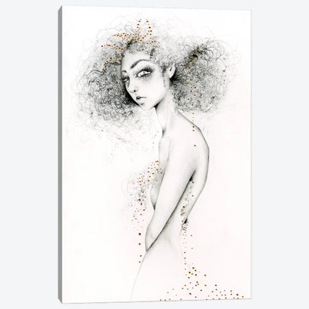 Queen Canvas Print #JHB51} by Joanna Haber Canvas Art
