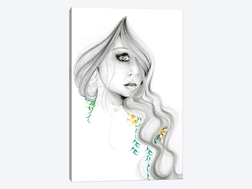 The Beauty Within by Joanna Haber 1-piece Art Print