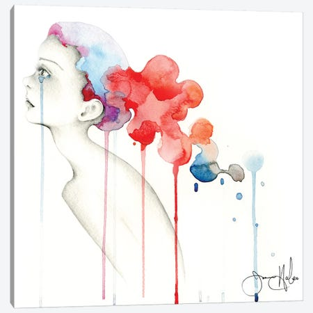 Untitled I Canvas Print #JHB61} by Joanna Haber Canvas Art Print