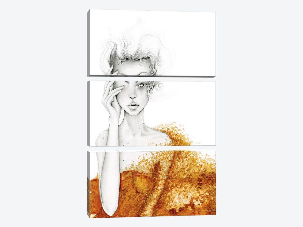 Broken  by Joanna Haber 3-piece Canvas Print