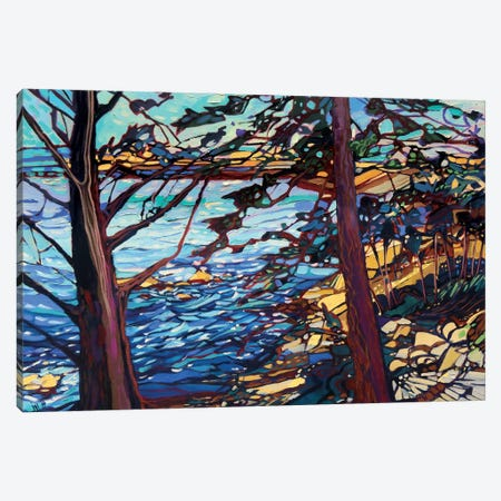The Wind And The Water Made A Tattletale Sound Canvas Print #JHD33} by Judy Hodge Canvas Art