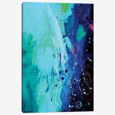 Blue And Blue Canvas Print #JHD5} by Judy Hodge Canvas Art