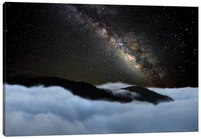 Rivers In The Sky Canvas Art Print