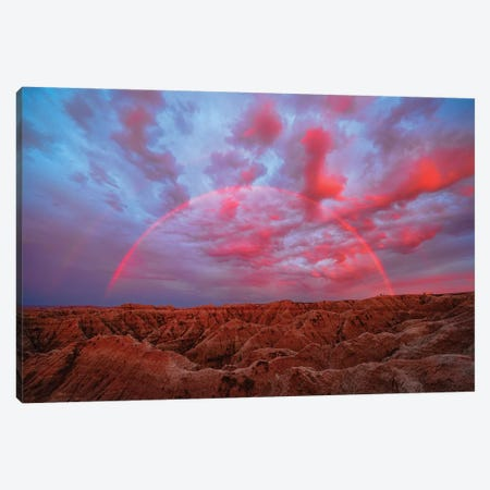 Symphany Over Badlands Canvas Print #JHF1} by John Fan Art Print