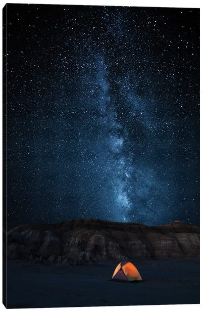 The Sky Is My Blanket Canvas Art Print