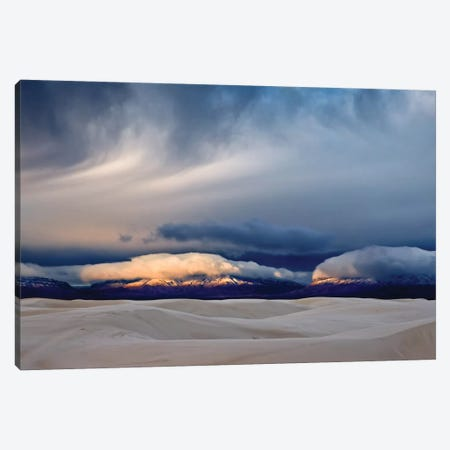 Day Break At White Sand Canvas Print #JHF6} by John Fan Canvas Wall Art