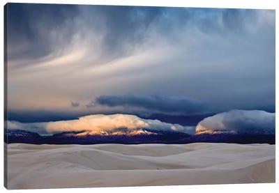 Day Break At White Sand Canvas Art Print
