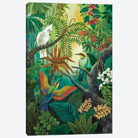 High Up In The Branches Canvas Print #JHL10} by Johanna Hildebrandt Canvas Artwork