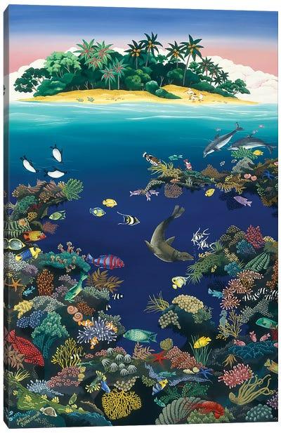 Reef Fantasy Canvas Art Print