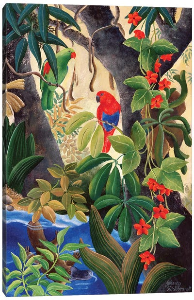 River's Bend II Canvas Art Print