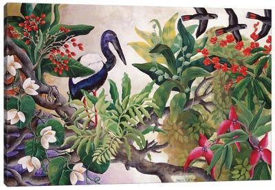 Transient Bloom Canvas Art Print