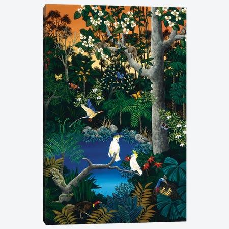 Tropical Forest Canvas Print #JHL26} by Johanna Hildebrandt Canvas Art