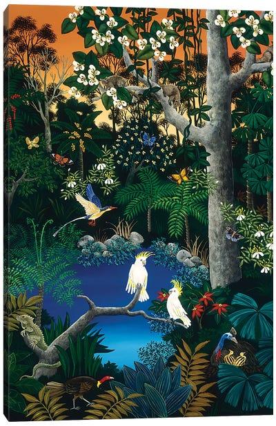 Tropical Forest Canvas Art Print