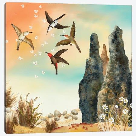 Dance At Sunset Canvas Print #JHL28} by Johanna Hildebrandt Canvas Art Print