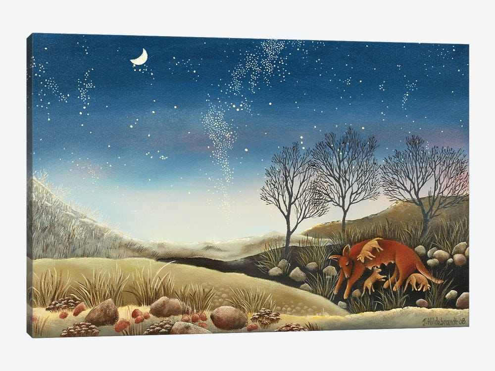 Under The Milky Way by Johanna Hildebrandt 1-piece Canvas Print