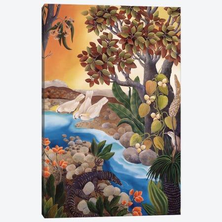 Creekbed Canvas Print #JHL4} by Johanna Hildebrandt Canvas Wall Art