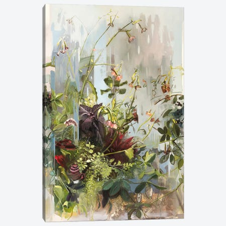 Garden Of The Hesperides Canvas Print #JHM14} by Johnny Morant Canvas Wall Art