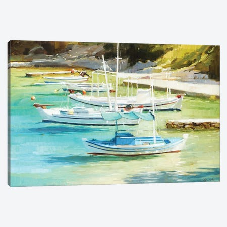 Gin Clear Canvas Print #JHM15} by Johnny Morant Canvas Wall Art