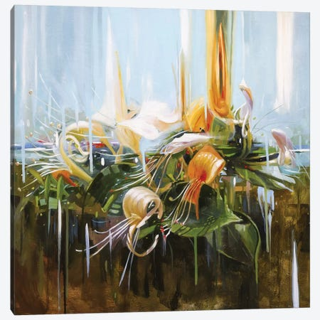 Honeysuckle Canvas Print #JHM17} by Johnny Morant Canvas Art