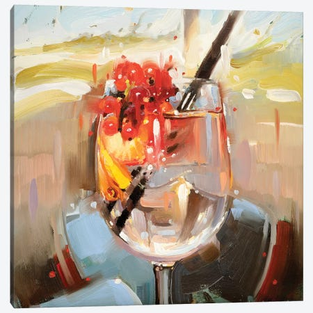 5 O'Clock Canvas Print #JHM1} by Johnny Morant Canvas Artwork
