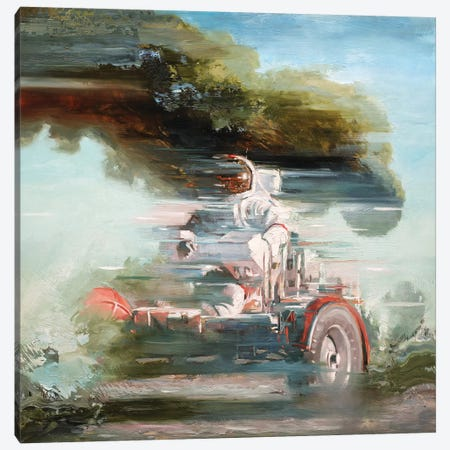 Lunar Rover Canvas Print #JHM20} by Johnny Morant Canvas Wall Art