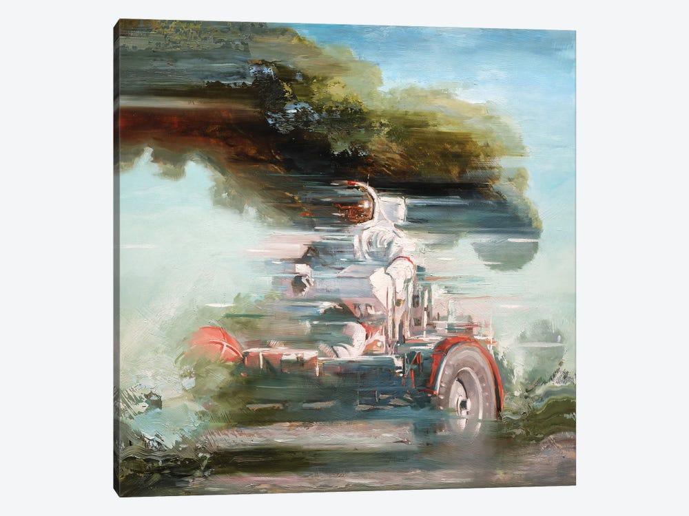 Lunar Rover by Johnny Morant 1-piece Canvas Art Print