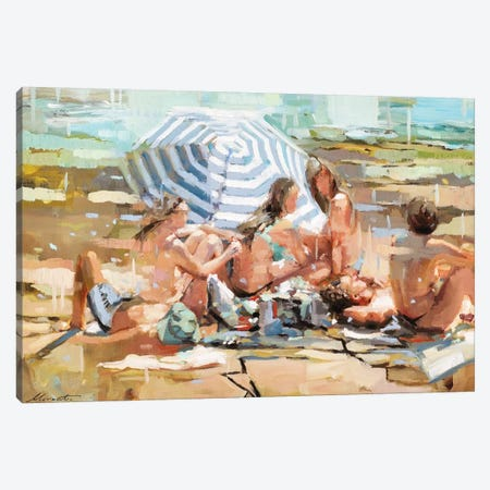 Observers Canvas Print #JHM22} by Johnny Morant Canvas Wall Art