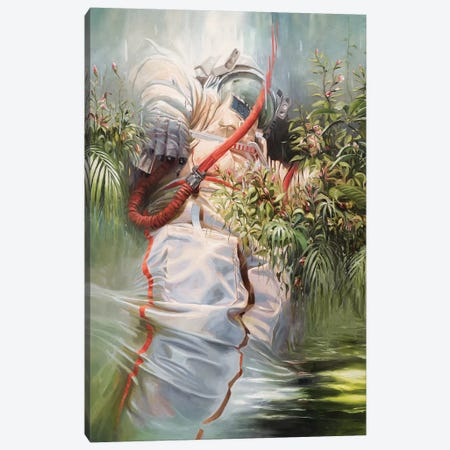 On The Shoulders Of Giants Canvas Print #JHM23} by Johnny Morant Canvas Wall Art
