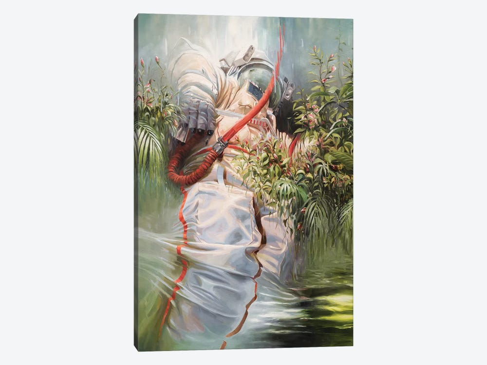 On The Shoulders Of Giants by Johnny Morant 1-piece Canvas Artwork