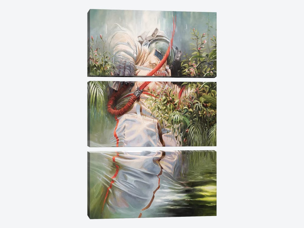 On The Shoulders Of Giants by Johnny Morant 3-piece Canvas Art