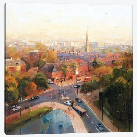 Overlooking Hampstead Canvas Print #JHM24} by Johnny Morant Canvas Print