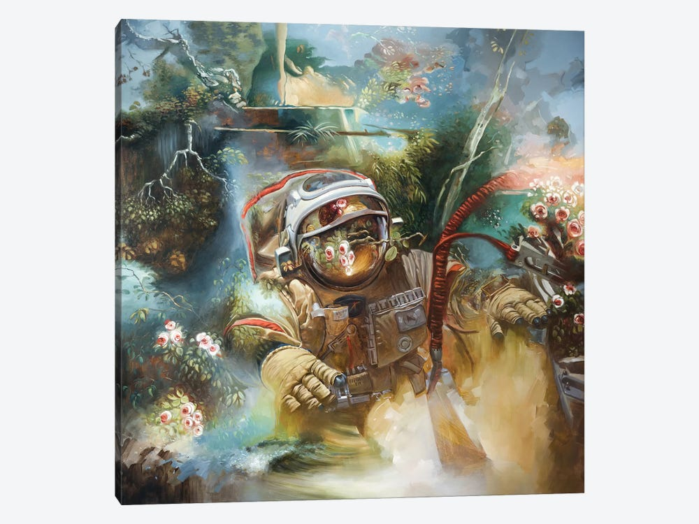 The Anthropocene by Johnny Morant 1-piece Canvas Artwork