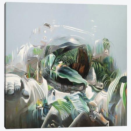 A Greener Future Canvas Print #JHM2} by Johnny Morant Canvas Art