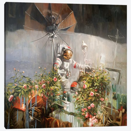 A New Eden Canvas Print #JHM4} by Johnny Morant Art Print