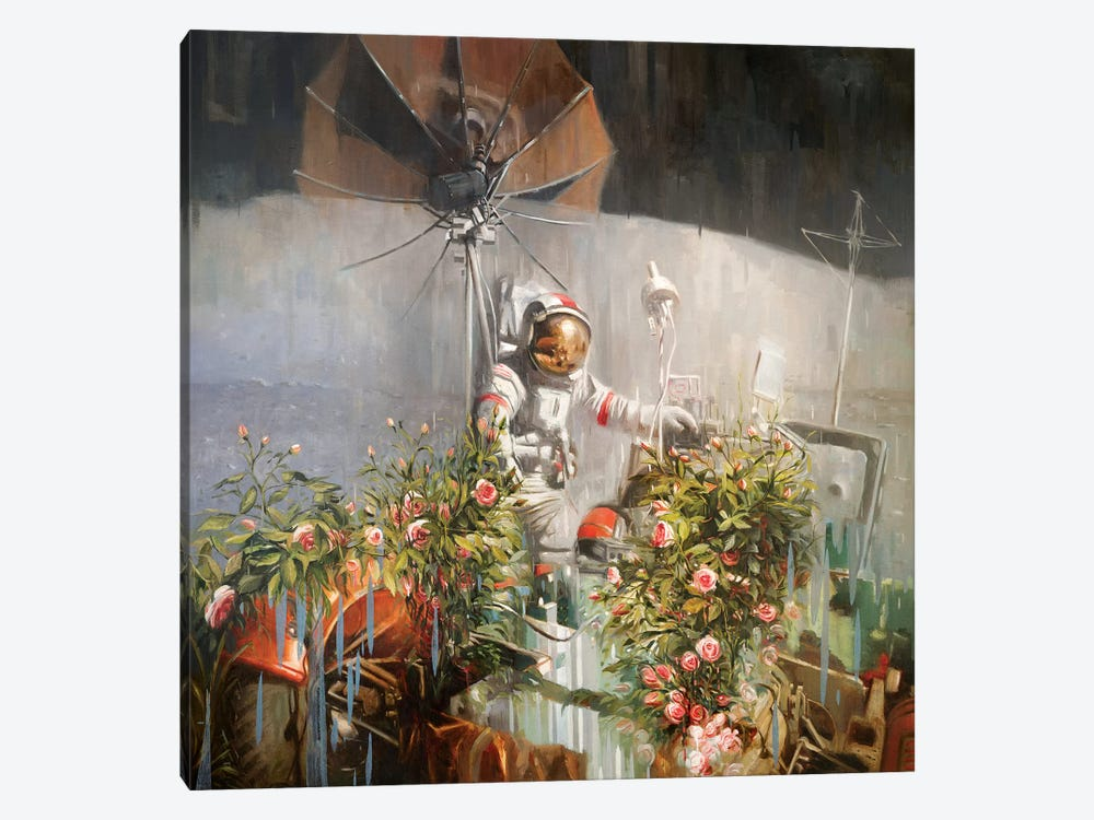 A New Eden by Johnny Morant 1-piece Canvas Wall Art