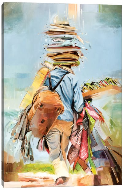 Beach Trader Canvas Art Print