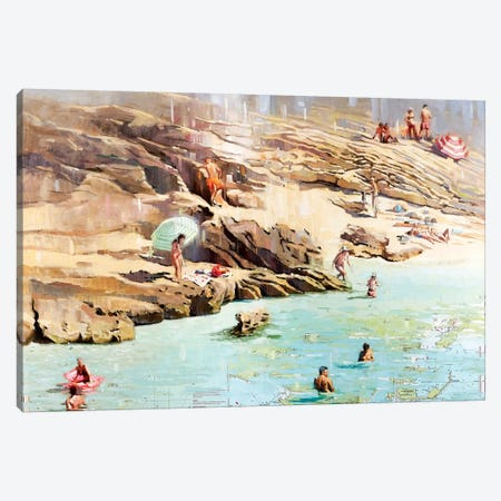 Charted Waters Canvas Print #JHM7} by Johnny Morant Canvas Art Print