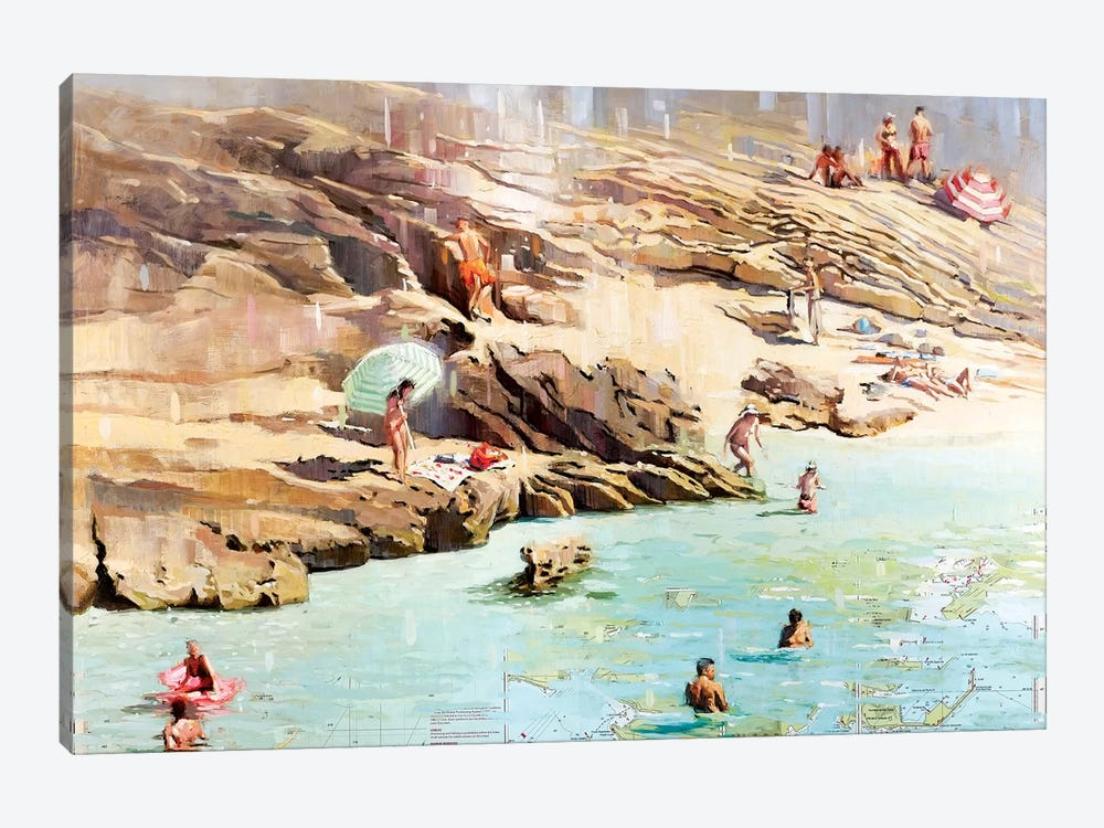 Charted Waters by Johnny Morant 1-piece Art Print