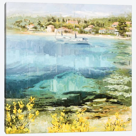 Clear Water Canvas Print #JHM9} by Johnny Morant Canvas Wall Art