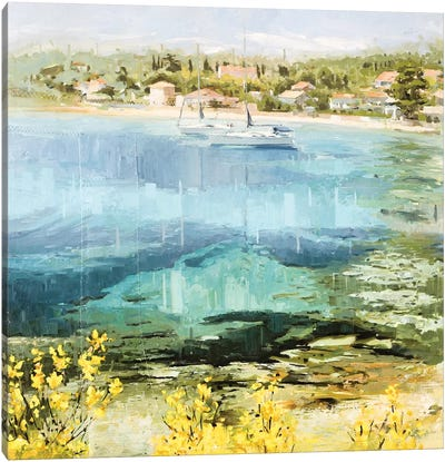 Clear Water Canvas Art Print
