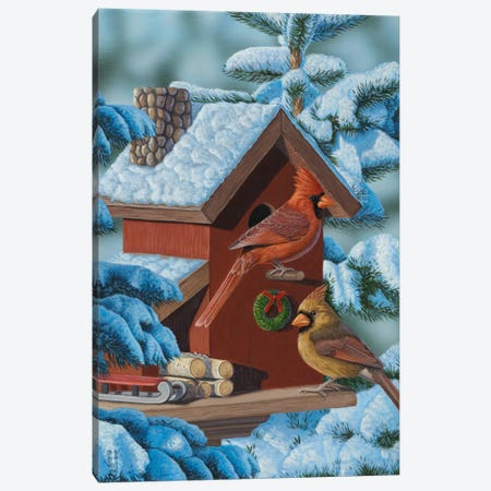 Christmas Cards Canvas Print #JHO11} by Jeffrey Hoff Canvas Art Print